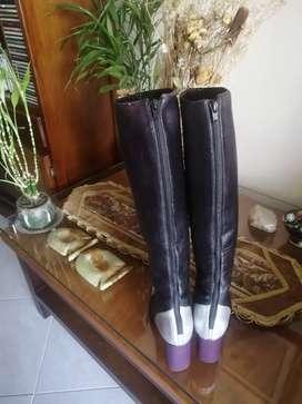 Vendo botas tricolor largas sandalias de zara zapato stiletto tallas 36 y 37y sobre todo $ 480.000 negociable