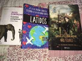 Libros originales a 30 soles