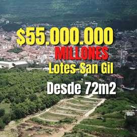 LOTES EN SAN GIL CON ESCRITURAS PÚBLICAS Y SERVICIOS