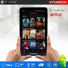 Tablet Xtratech 7 Pulgadas 1Gb RAM Android WIFI OFERTA