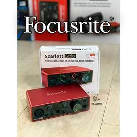 FOCUSRITE SCARLETT SOLO MK3 - INTERFAZ DE AUDIO USB 3G
