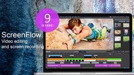 ScreenFlow 9 – Grabar escritorio en Mac