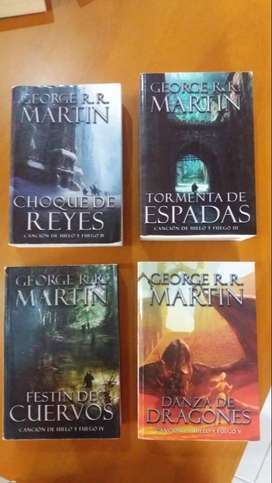 Libros George Martin - Game Of Thrones