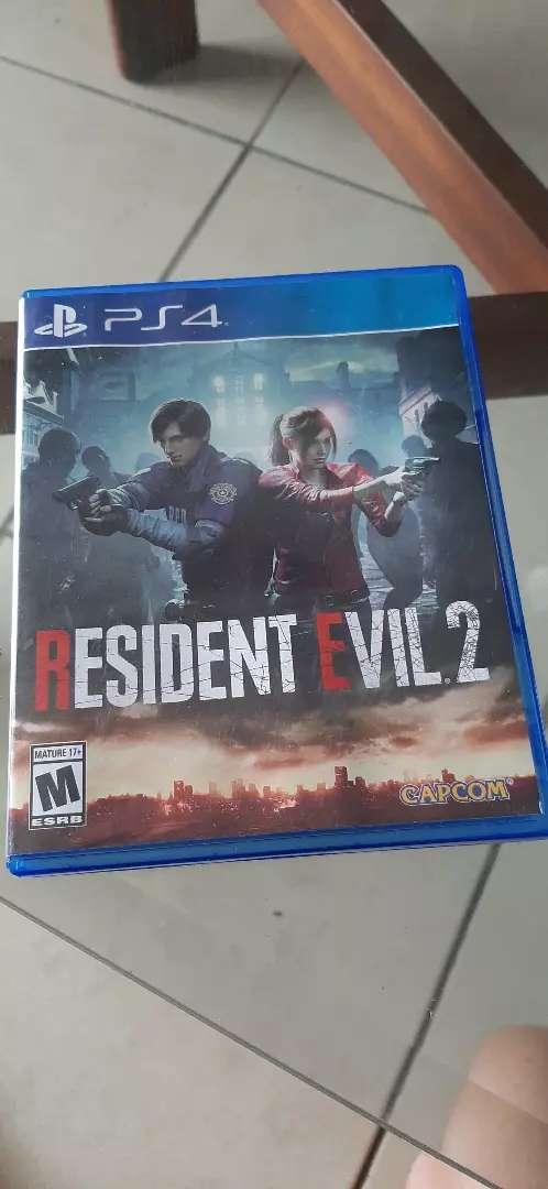 Resident Evil 2 Ps4 0