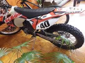 KTM EXC  350 CC ENDURO  2013