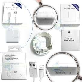 Cargador Mas Cable De Datos Usb Ipad 4 5 Mini Air Pro 2m Origi