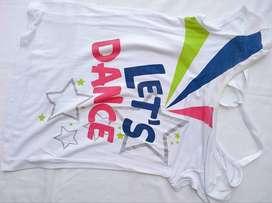 Camisa blanca Holgada Talla 8-14