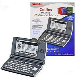 Traductor Franklin Collins 2110 inglesespañol 5 Idiomas