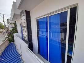 Apartamento 3 habitaciones acogedor cerca a la playa.