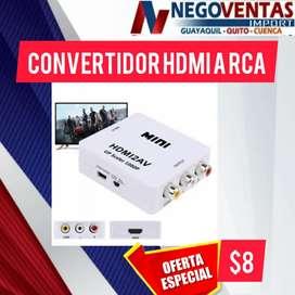 Conventidor HDMI a RCA