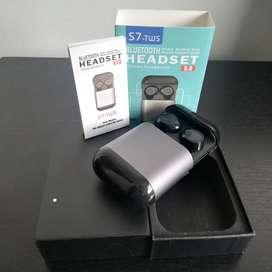Audífonos inalámbricos S7 TWS Bluetooth Estéreo NUEVOS
