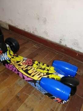 Scooter para niños de 2 a 9 años