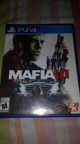 Juego de ps4 mafia 3