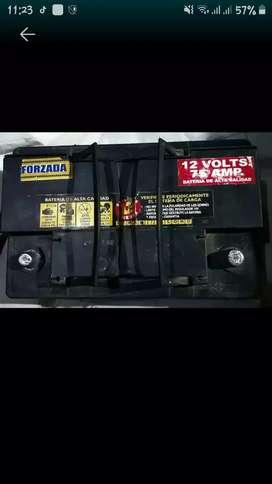 Bateria para auto sin uso guardada bien cargada