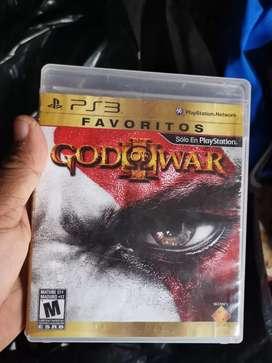 Juego original Dios de la Guerra play3