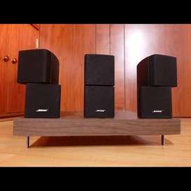 ORIGINALES Bose cubos dobles parlantes BAFLES polk Yamaha marantz denon
