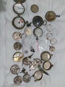 repuestos relojes de bolsillo