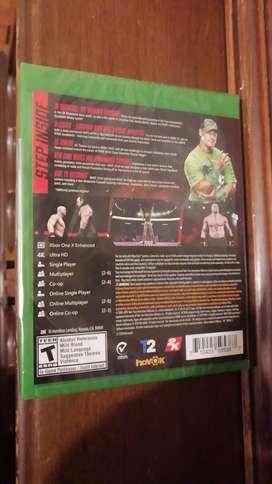 Juego Wwe 2k20 para Xbox one sellado