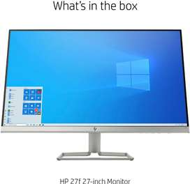 Monitor Hp 27f 27 Ips Led Fhd Freesync 1080p + combo teclado y mouse