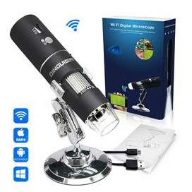 Capilografo / Microscopio WiFi Usb 1000x