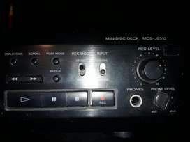 Mini Disk Sony Mdsje510