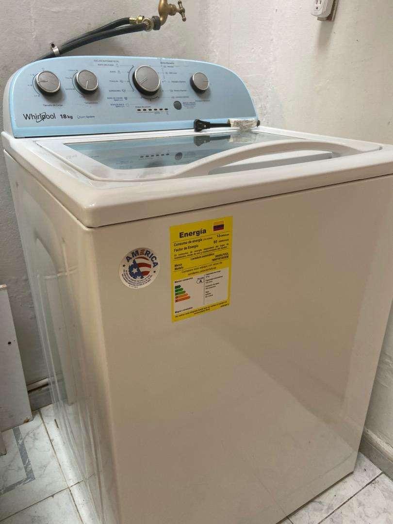Venta lavadora whirlpool 18 Kg 0