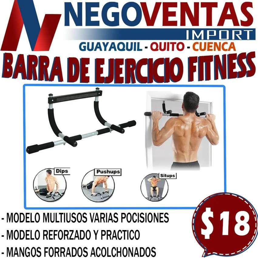 BARRA DE EJERCICIOS FITNESS 0