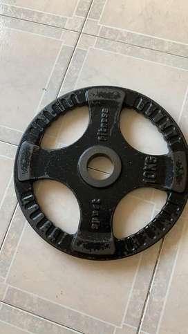 Disco olimpico 10 kgr