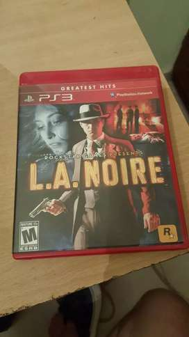 Vendo juego L.A Noire ps3