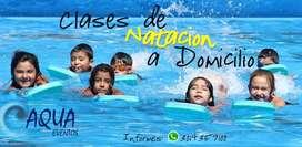 CLASES DE NATACION A DOMICILIO SIN MOVERSE DE SU HOGAR