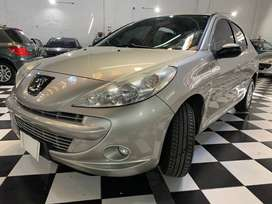 Peugeot 207 compact 1.4 hd (diesel) sedán 2012 champagne nico mazzaoni