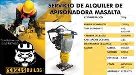 APISONADORA MASALTA DE 5.5 HP EN ALQUILER