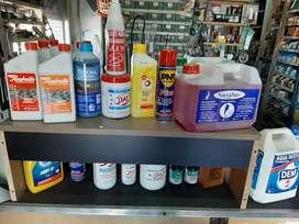 Refrigerantes/líquido de Freno/grasas