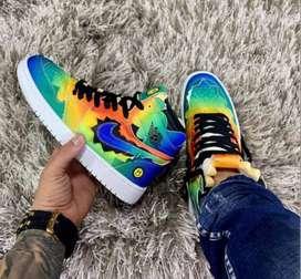Bota Zapatillas Nike Air Jordan Retro 1 J. Balvin
