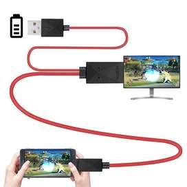 Cable Adaptador Micro Usb Hdmi Hd Tv Mhl