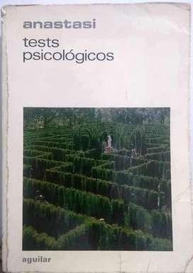 Tests Psicológicos, ANNE ANASTASI, Tercera Edición 1978, AGUILAR