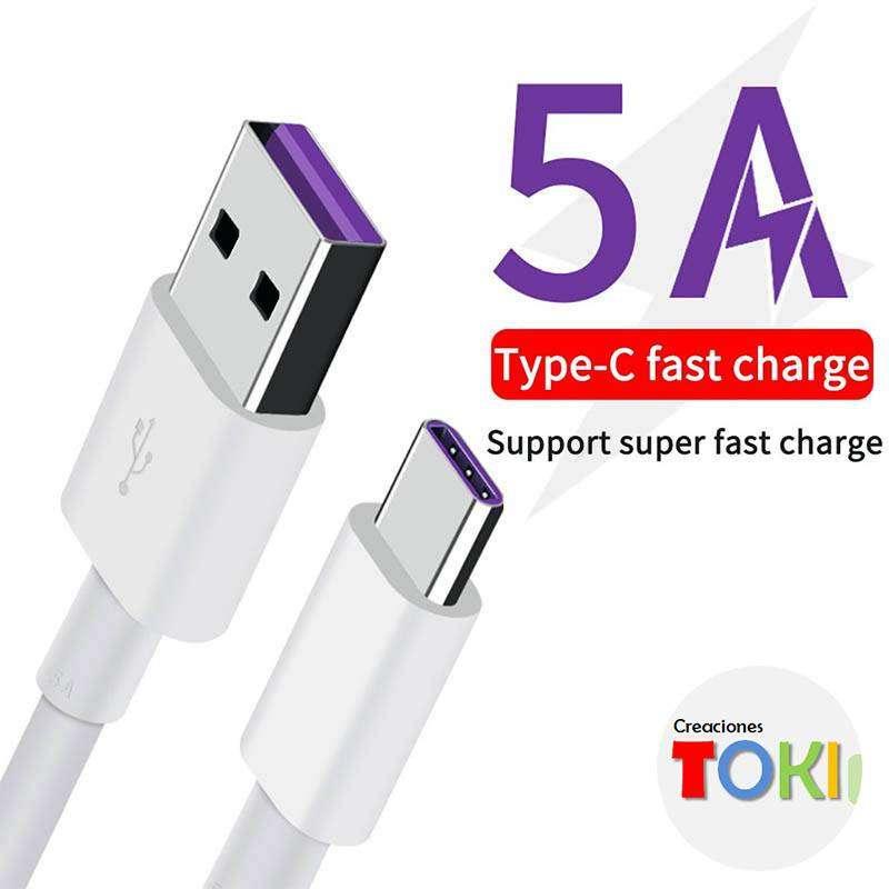 Cable Huawei Original Tipo C Super Carga 5A  1m