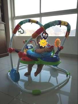 Jumper Edición Especial Baby Einstein Activity Original