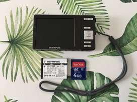 Cámara Digital Olympus Fe-4020 14 Megapixeles + 4gb Memoria