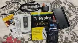 Calculadora TI-Nspire™ CX CAS +software + manual + accesorios