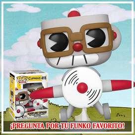 Funko Pop Cuphead Avion