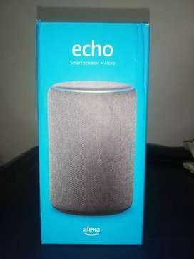 Echo Smart Speaker + Alexa (3ra generación)