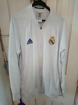 Adidas chompa Real Madrid deportiva Basquet XL