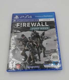 FIREWALL ZERO HOUR PS4 NUEVO