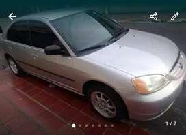 HONDA CIVIC 2001 FULL EQUIPO 1700 CC