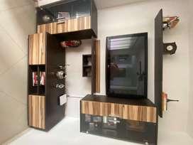 Mueble para estudio y Tv