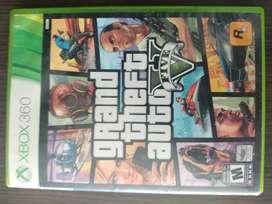 Juego de Xbox 360 GTA V