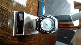 reloj casio de acero inox
