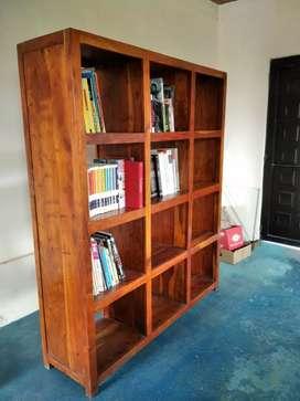 Biblioteca madera