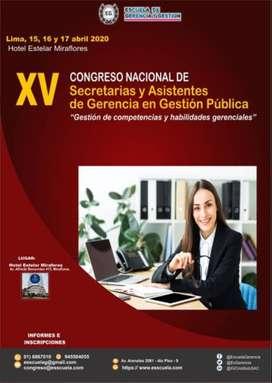 CONGRESO NACIONAL DE SECRETARIAS 2020